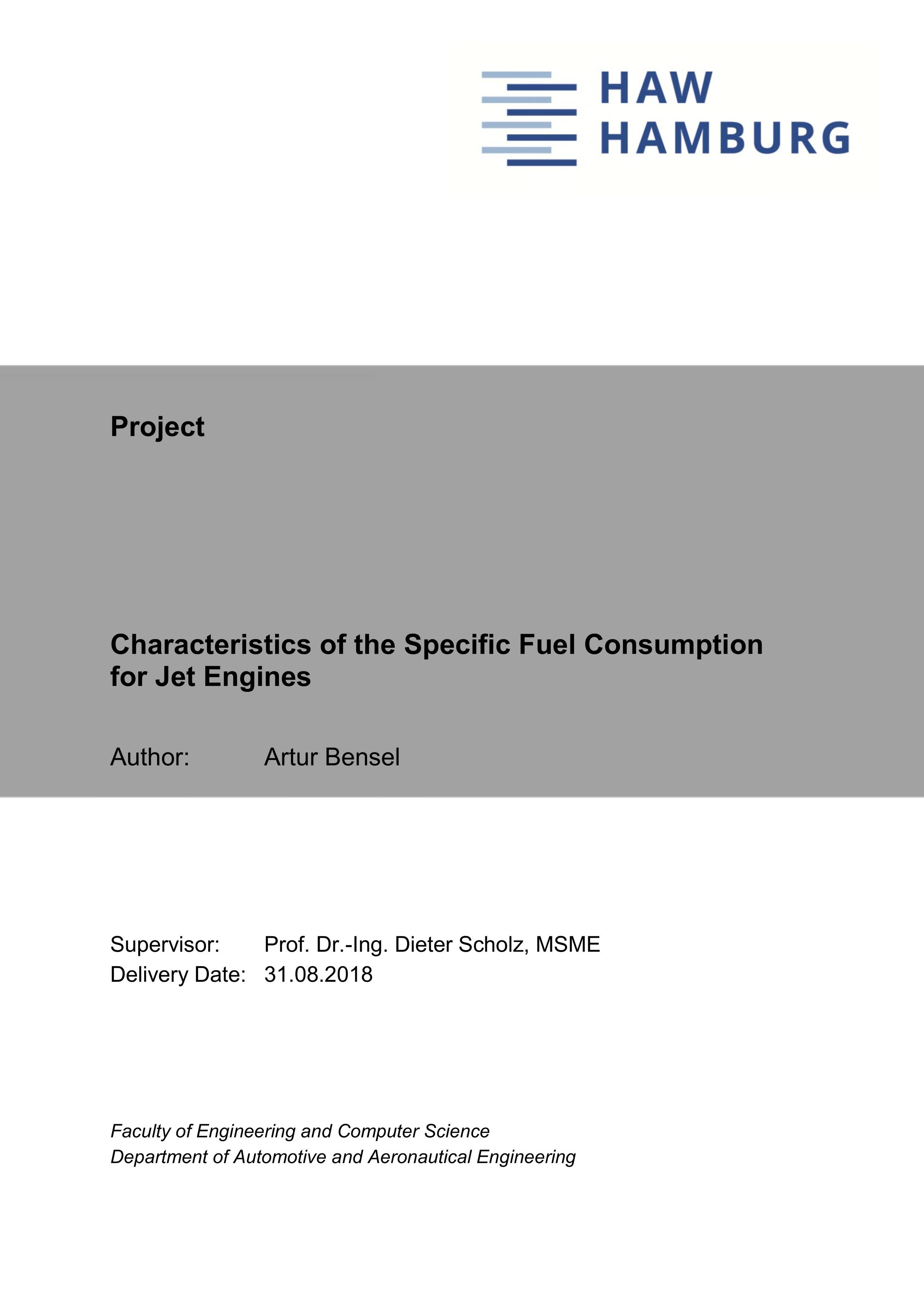 Thumbnail image ofCharacteristics of the Specific Fuel Consumption...