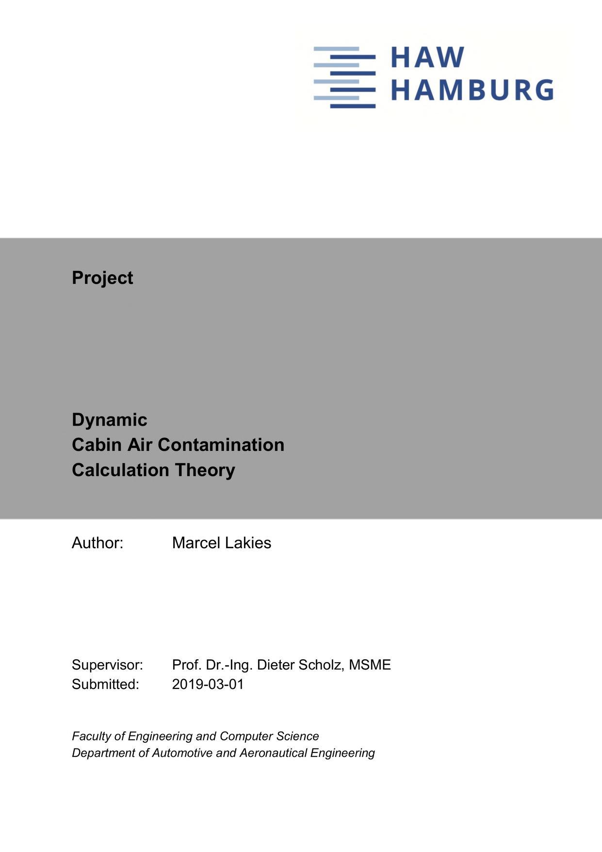 Thumbnail image ofDynamic Cabin Air Contamination Calculation Theory