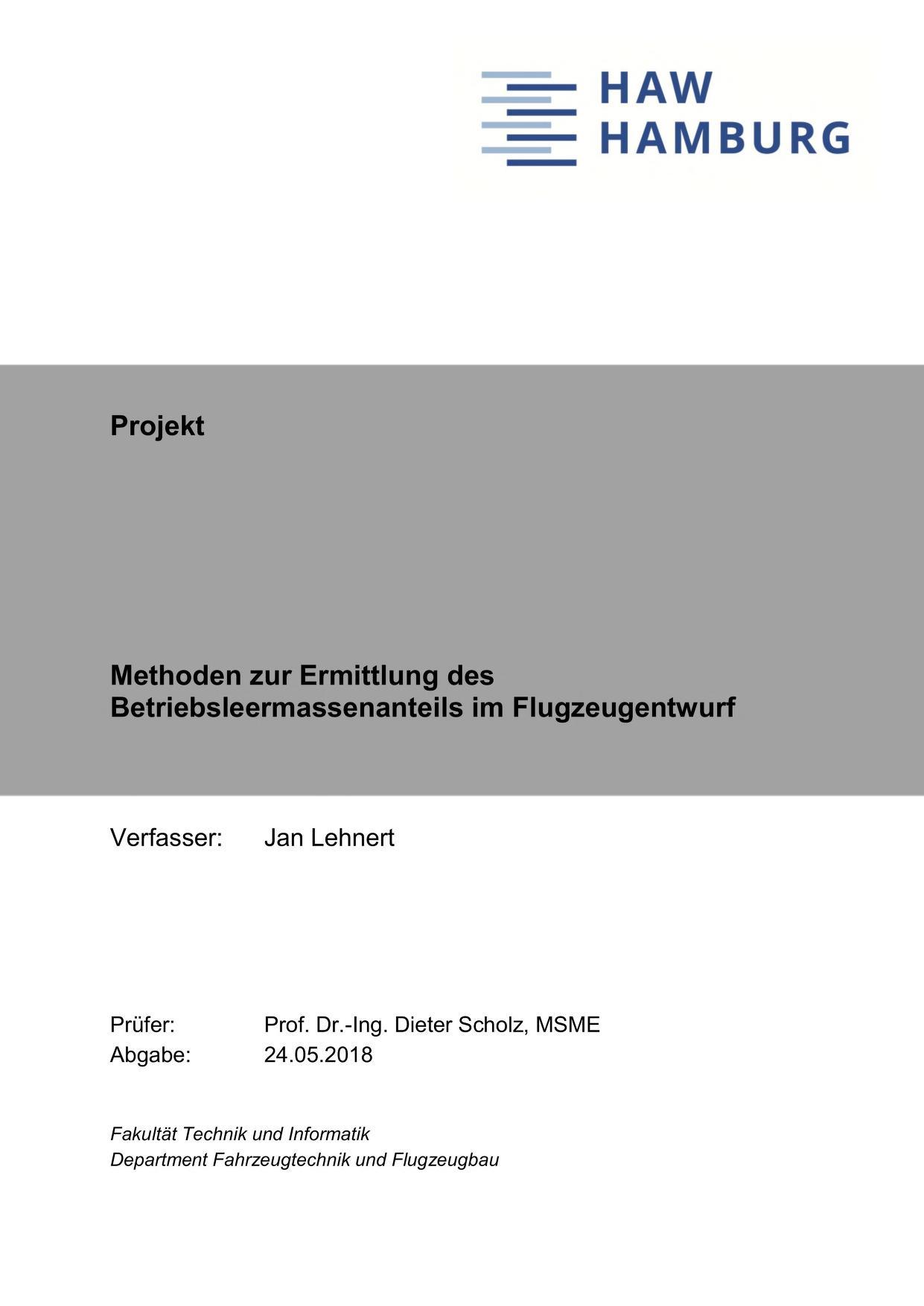 Thumbnail image ofMethoden zur Ermittlung des Betriebsleermassenanteils...